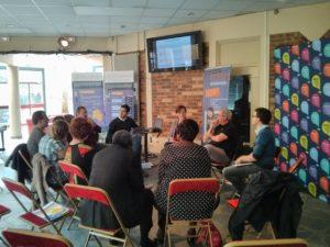 Sénart - Cafe débat avec les habitants au sujet du SCoT de Sénart