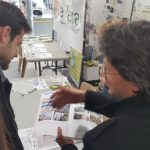 "Atelier ""Perceptotest"" au Perray-en-Yvelines (Eric Hamelin en photo)"
