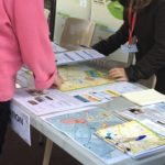 Atelier Percepto-test au Perray-en-Yvelines (Sophie Tartière en photo)